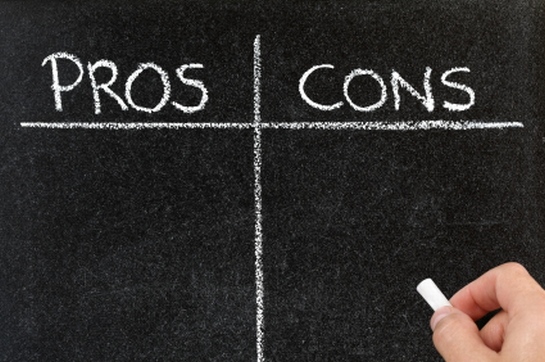 pros and cons of nursing